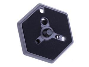 "030-38 Hexagonal Quick Release Plate with 3/8"" Screw Replaces #3048"
