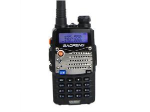 Handheld CB Radio BF-UV5RA 5W 128CH VHF + UHF 136-174MHz+400-480MHz DTMF IP65 Waterproof Portable Two-Way Radio Walkie Talkie