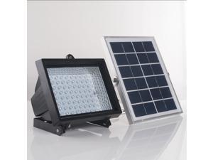 Solar Powered Outdoor Security for Lawn Garden Solar Panel with Light Sensor 80 LED Solar Spotlight SL-50