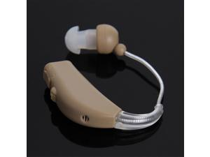 JZ-1088F Rechargeable Hearing Aid Mini Hearing Device Behind Ear Voice Amplifier Adjustable Tone
