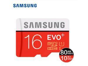 Samsung EVO+ Micro SD Memory Card 16G 32G 64G 128GB MicroSD Cards SDHC SDXC Max 80M/S EVO 32GB 64GB C10 TF Trans Flash Micro Card C10 8GB