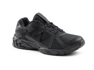 New Balance SureGrip Mens 570 SG Black Trail Running Athletic Slip Resistant Work Shoes 7.5M