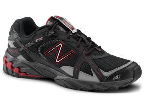 New Balance SureGrip Mens 570 SG Black/Red Trail Running Athletic Slip Resistant Work Shoes 9.5M