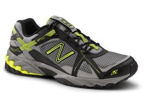 New Balance SureGrip Mens 570 SG Black/Yellow Trail Running Athletic Slip Resistant Work Shoes 8.5M