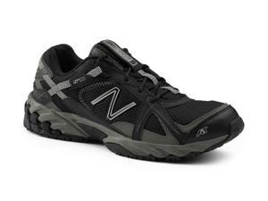 New Balance SureGrip Mens 570 SG Black/Silver Trail Running Athletic Slip Resistant Work Shoes 8.5W