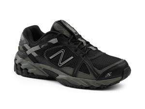 New Balance SureGrip Womens 570 SG Black/Silver Trail Running Athletic Slip Resistant Work Shoes 6M