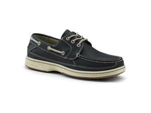 Dockers SureGrip Mens Pier Navy Boat Shoe Slip Resistant Work Shoes 13M