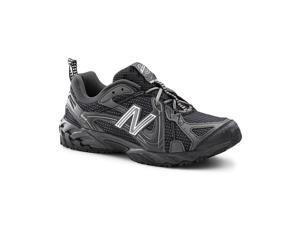 New Balance SureGrip Mens 573 SG Black/Gray Trail Off-Road Athletic Work Shoes 7.5M