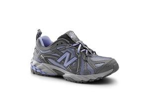 New Balance SureGrip Womens 573 SG Gray/Light Blue Trail Off-Road Athletic Work Shoes 5M