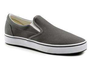 Keuka SureGrip Mens Sublime Gray Classic Canvas Slip On Work Shoes 10.5M