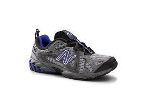 New Balance SureGrip Mens 573 SG Gray/Blue Trail Off-Road Athletic Work Shoes 8.5W
