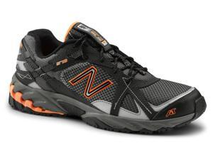 New Balance SureGrip Mens 570 SG Orange/Grey Trail Running Athletic Slip Resistant Work Shoes 11.5M