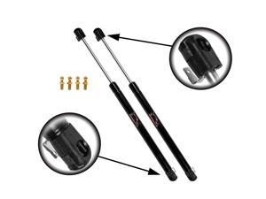 Qty (2) Jeep CJ7 1980 1981 1982 1983 1984 1985 Rear Window Lift Supports Strut.  PLEASE CONTACT US BEFORE ORDERING - 4722BS8