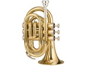 RPKT1 Pocket Trumpet - Brass