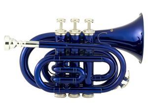 RPKT1 Pocket Trumpet - Blue