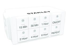 Stanley 38428 TimerMax Countdown, 1-Outlet Digital Countdown Timer