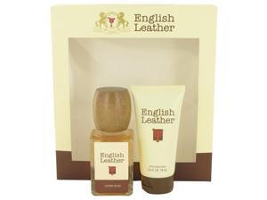 ENGLISH LEATHER by Dana for Men - Gift Set -- 3.4 oz Cologne Splash + 2.5 oz After Shave Balm