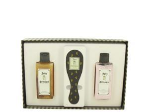 Juicy Crittoure by Juicy Couture for Women - Gift Set -- 8 oz  Shampoo + 8 oz Conditioner + Dog Brush