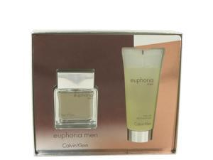 Euphoria by Calvin Klein for Men - Gift Set -- 1.7 oz Eau De Toilette Spray + 3.4 oz Shower Gel