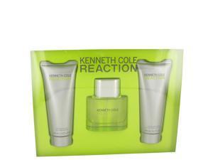 Kenneth Cole Reaction by Kenneth Cole for Men - Gift Set -- 1.7 oz Eau De Toilette Spray + 3.4 oz Shower Gel + 3.4 oz After Shave Gel