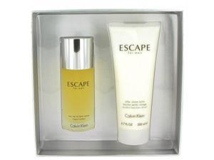 ESCAPE by Calvin Klein for Men - Gift Set -- 3.4 oz Eau De Toilette Spray + 6.7 oz After Shave Balm