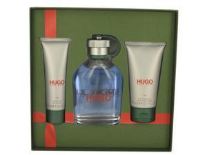 HUGO by Hugo Boss for Men - Gift Set -- 5 oz Eau De Toilette Spary + 2.5 oz After Shave Balm + 1.6 oz Shower Gel