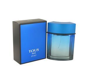Tous Man Sport by Tous for Men - Eau De Toilette Spray 3.4 oz