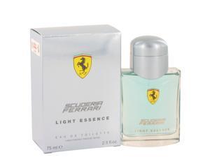 Ferrari Scuderia Light Essence by Ferrari for Men - Eau De Toilette Spray 2.5 oz