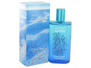 Cool Water Coral Reef by Davidoff for Men - Eau De Toilette Spray (Limited Edition) 4.2 oz