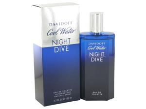 Cool Water Night Dive by Davidoff for Men - Eau De Toilette Spray 4.2 oz