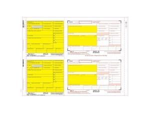 W-2 8-part 2-wide Mailer Carbon (100 Mailers/Box)