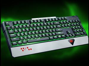 XK5 Wired Waterproof Gaming Keyboard, Mechanical-Similar Typing/Gaming Experience 104-key Gaming Keyboard
