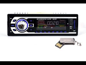 8027BT Bluetooth HD Car Audio MP3 Player Card Machine with Radio USB/SD/MMC Card Reader 12V Bluetooth Car Stereo FM Radio MP3 Audio Player Support Bluetooth Phone/U Disk/USB/SD