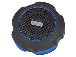 iHome iBT82BLC iBT82 Waterproof + Shockproof Speaker Black/Blue