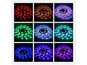5M 300LEDs RGB 3528 LED Light Strip 44 Key IR Remote Controller Decor