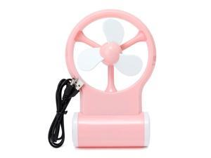 Portable Flexible Mini Cooling Fan Cooler Operated Computer USB - Pink
