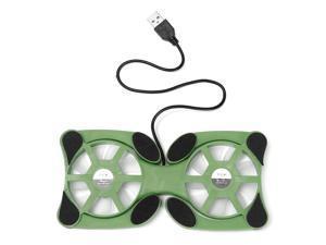 Mini Octopus Shape Foldable LED USB Cooling Pad Cooler Fan For Notebook Laptop
