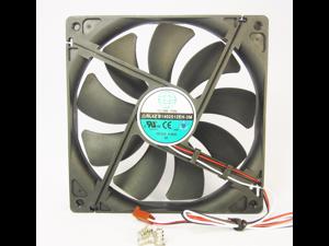 140mm 25mm New Case Fan 12V DC 153CFM CPU Computer Cooling 3Pin Ball Bg 381