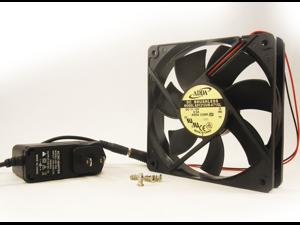 120mm 25mm New Case Fan 110 115 120 VAC 70CFM PC Cooling Ball Bearing