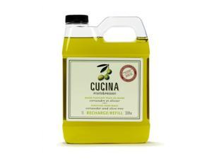 Fruits & Passion Cucina Coriander and Olive Purifying Hand soap  Refill 33.8oz 1L
