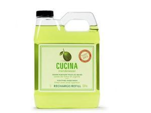 Fruits & Passion Cucina Lime Zest Purifying Hand soap Refill 33.8oz 1L