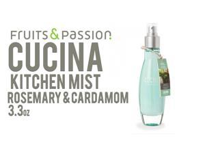 Fruits & Passion Cucina Fragrant Kitchen Mist Rosemary & Cardamom 3.3oz