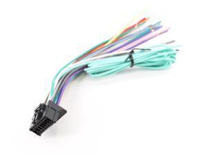 Xtenzi 16 Pin  Radio Wire Harness for Pioneer AVH-P1400DVD, AVH-P2400BT & More