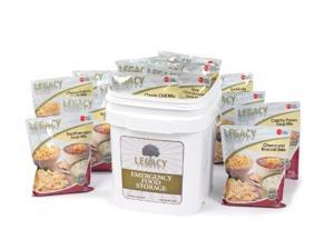 Long Term Gluten Free Food Storage: 60 Large Servings - 15 lbs Emergency Survival Meals - Disaster Insurance Supplies with 25 Year Shelf Life - Prepper