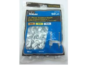IDEAL INDUSTRIES BPS250 Plastic Insulated Cable Staples,1/2 inch
