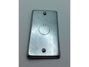 Steel City 58-C-16 1-Gang Steel GFCI Utility Device Cover,