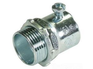 """Thomas & Betts SG TC121A 1/2"""" Connector,Screw,EMT,Steel (Pack of 50)"""