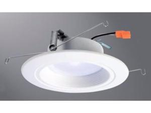 Halo 80CRI LED Recessed Retrofit RL Light with Baffle Trim, 5/6-Inch, 600 Lumens, Warm White