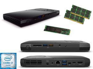 Intel NUC NUC6i7KYK Mini PC i7-6770HQ QUAD CORE, 240GB M.2 SSD Solid State Drive, 8GB RAM, Assembed and Tested