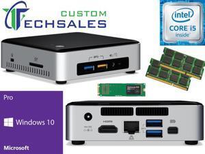 Intel NUC NUC6i5SYK Mini PC (Skylake) i5-6260U, 500GB Samsung SSD, 16GB RAM Windows 10 Pro Installed & Configured